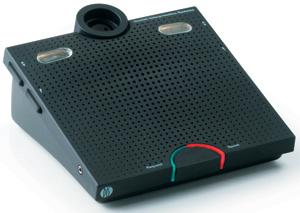 DIS CM 6090 P Пульт председателя с 2-мя селекторами каналов, без микрофона системы DCS 6000 /15-11-58201/