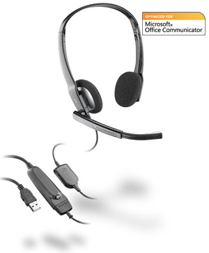 /PL-A630-USB/.Audio 630, мультимедийная гарнитура для компьютера (Plantronics)
